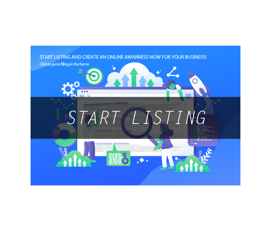 CLICK HERE TO START YOUR LISTINGS
